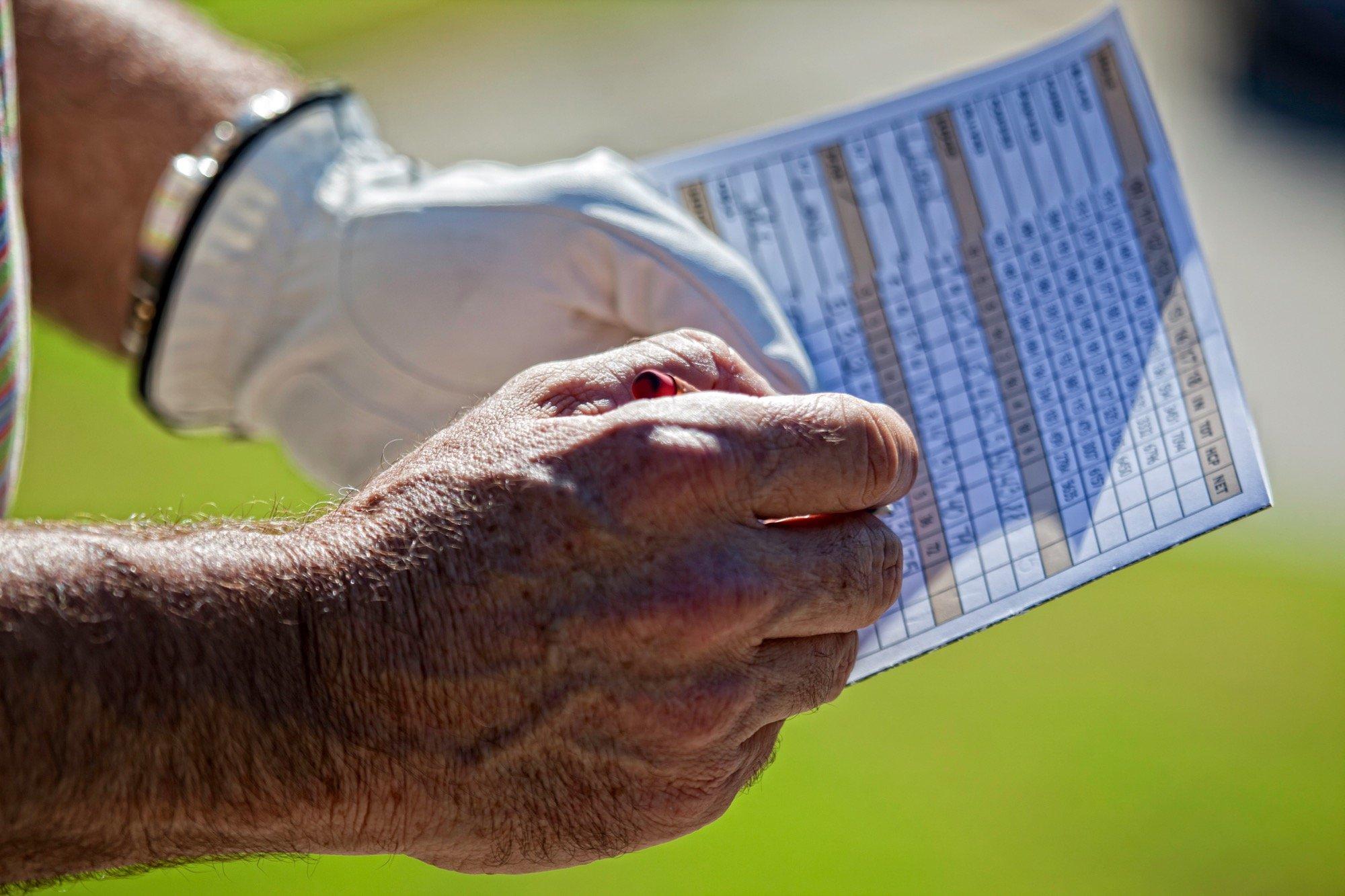 Golfers Scorecard - Sarasota