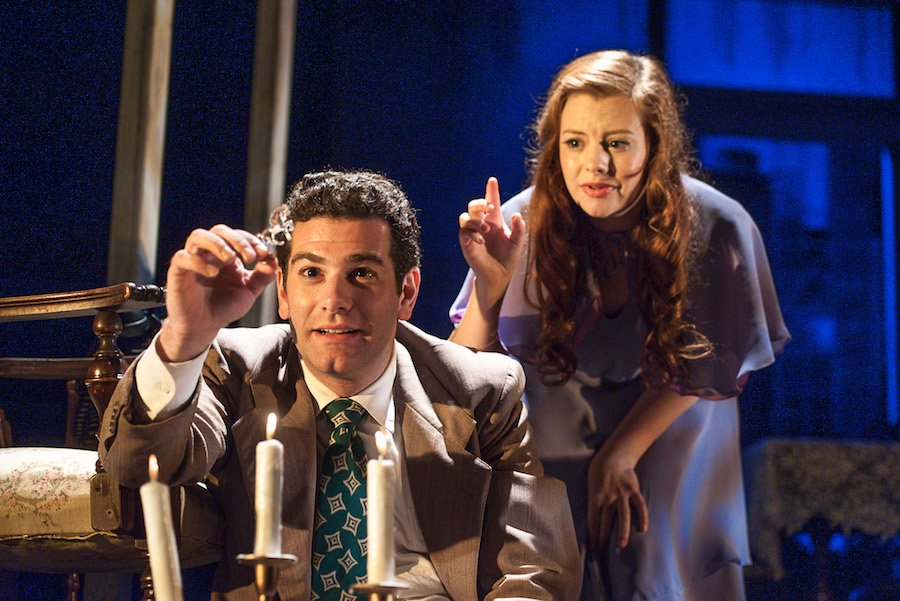 Ben Jacoby and Andrew Lynn Green in The Glass Menagerie