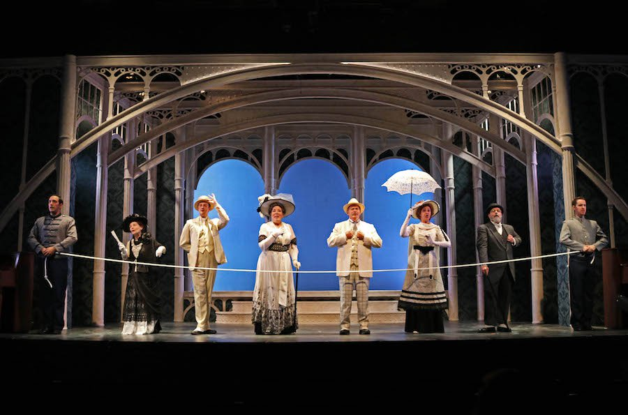 Cast of My Fair Lady - photo by David Arsenault