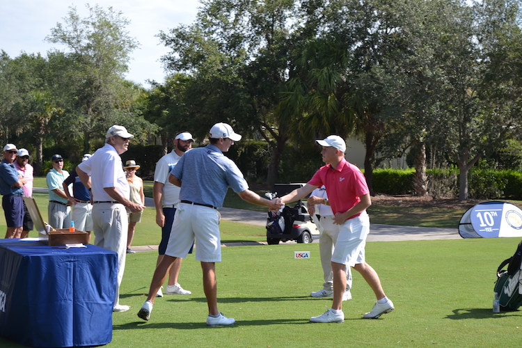 The Founders Golf Club Member Sebastian Mark was the medalist for the Local U.S. Open Qualifier in Sarasota FL.